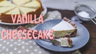 Ванильный чизкейк с вишней/Vanilla Cheesecake (Рецепты от Easy Cook)