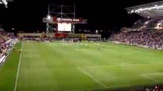 Cuahutemoc Blanco Chicago Fire Goal Toyota Park Wizard 2-0