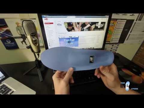New Balance Supportive Cushion Insoles IUSA 3810 @TheInsoleStore.com