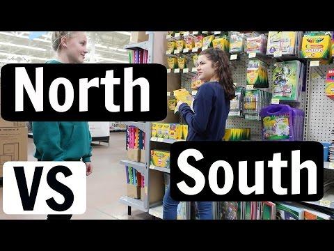Northern People VS Southern People // infinityalanaxx