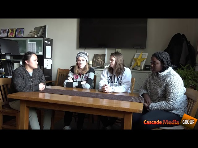 Cascade Media interviewed eight students from St. Teresa's Academy