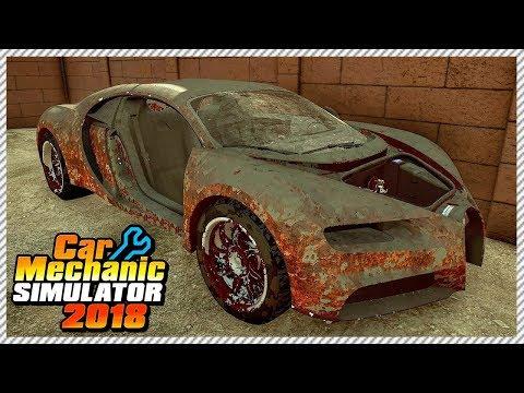 Car Mechanic Simulator 2018 - Buying Cheapest Junkyard Bugatti Chiron In The Country | Ep. 7