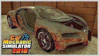 Car Mechanic Simulator 2018 - Buying Cheapest Junkyard Bugatti Chiron in The Country   Ep. 7