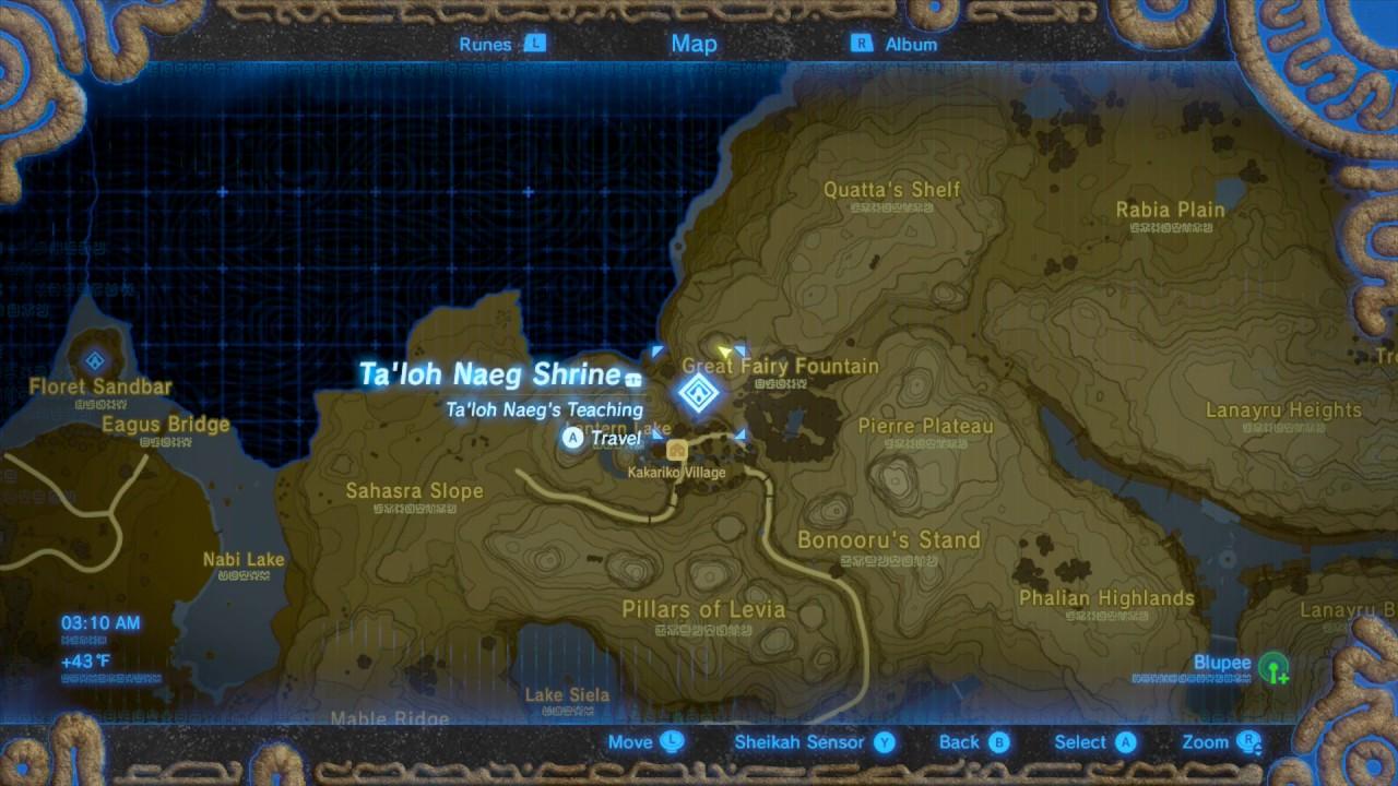 Zelda Breath Of The Wild Good Blue Nightshade And Silent Princess Farming Spot Youtube