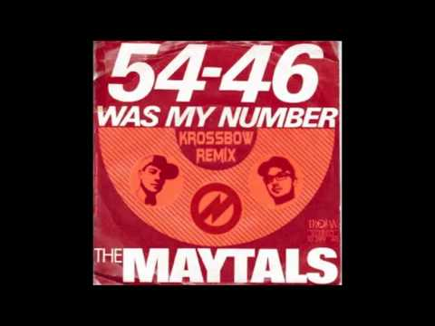 Toot & The Maytals - 54-46 Krossbow Remix)