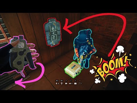 TRAPPING THE DEFUSER  - Rainbow Six Siege Blood Orchid Funny Moments