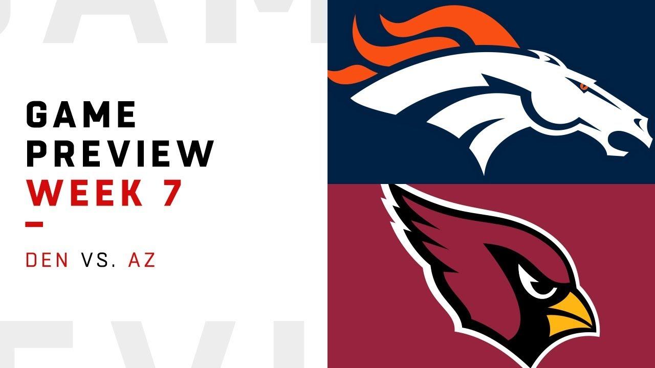 Denver Broncos vs. Arizona Cardinals | Week 7 Game Preview | Keys to the Game