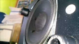 Labtec Pulse 285 Subwoofer bass test (max volume)