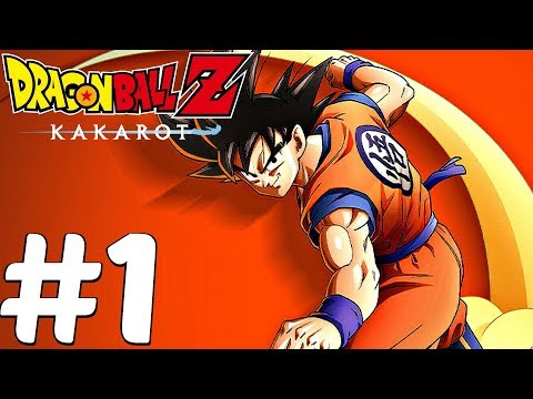 DRAGON BALL Z KAKAROT - Gameplay Walkthrough Part 1 - Goku Vs Vegeta Boss Fight (PS4 PRO)