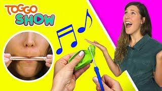 Musikinstrumente | DIY | SELBSTGEMACHT mit Lisa | TOGGO Show