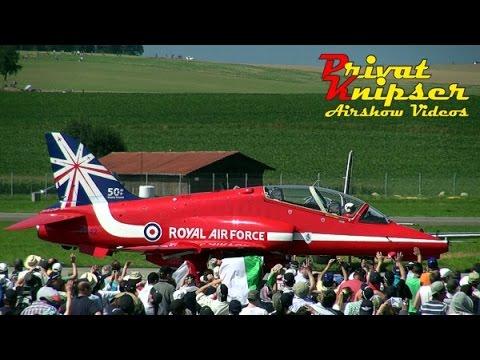 AIR14 // Red Arrows - Al Fursan - Patrouille Suisse // Aerobatics Stunt Flying Payerne