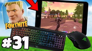 100% PERFECT Fortnite Mobile KEYBOARD & MOUSE MOD! - Fortnite Mobile Battle Royale #31