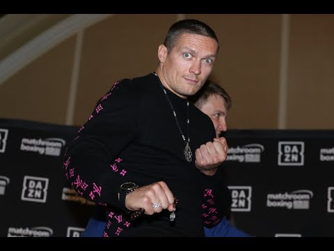 Usyk Vs Witherspoon FULL PRESS CONFERENCE