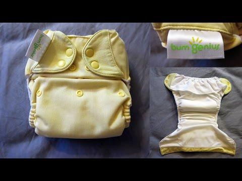 bumGenius 4.0 Pocket Cloth Diaper Review