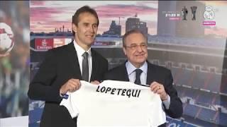 Presentación oficial de Julen Lopetegui   Real Madrid
