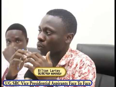 University of Ghana SRC Vice Presidential Face to Face (Clin