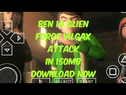 How To Download Ben 10 Alien Force Vilgax Attack In 150mb