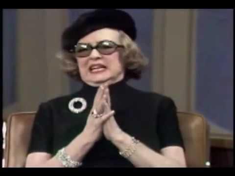 Bette Davis Full interview on Dick Cavett show