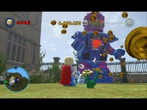 LEGO Marvel Super Heroes - Open World Free Roam - Northern Manhattan (X-Mansion/Rykers Island)