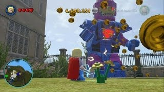 LEGO Marvel Super Heroes - Open World Free Roam - Northern Manhattan (X-Mansion/Rykers Island)