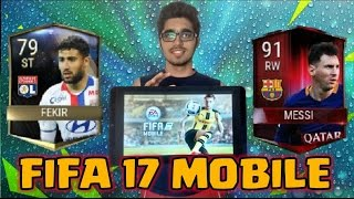 THE BEST GAME EVER!!! FIFA 17 MOBILE OFFICIAL GAMEPLAY TRAILER ANDROID IOS WINDOWS MOBILE !!! NEWS