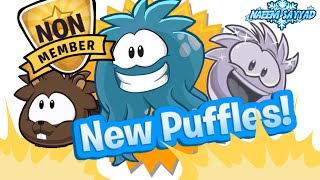 club penguin new puffles in 2015 2016 and 2017