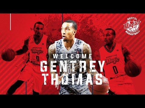 Bristol Flyers - Introducing Gentrey Thomas