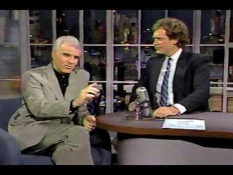 Letterman: Steve Martin interview [1986]