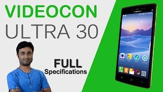 hindi videocon ultra 30   full specifications   features   price