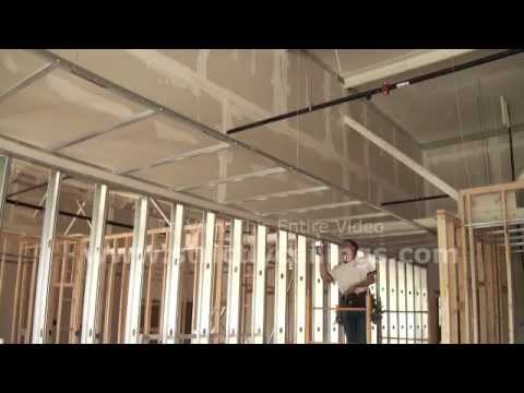 How To Install Suspended Ceilings Drywall Grid Systems
