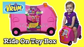 vrum ride on toy box dora the explorer