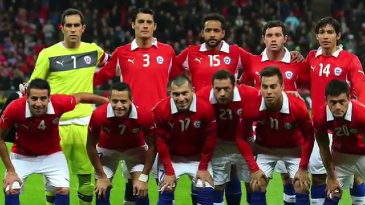 Soccer Players: Chile National Football Team