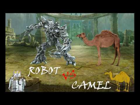 Robot vs Camel