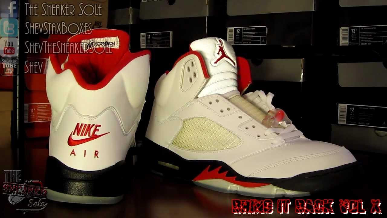 1999 Air Jordan 5 Rouge Feu