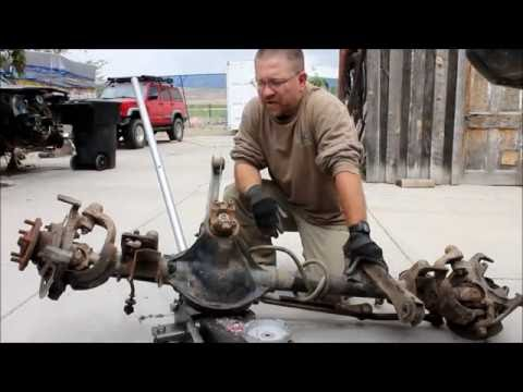 Project Tetanus Front Axle Swap Part 1 (How to remove a front axle)