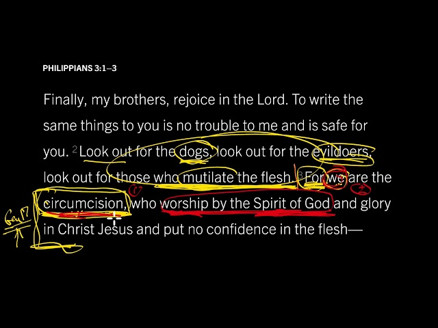 Philippians 3:1–3 //  Who You Are in Christ