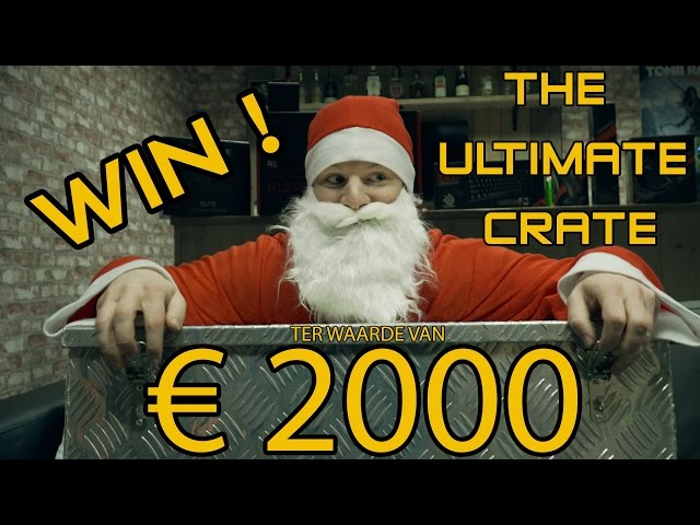 AFGELOPEN: The Ultimate Crate 2016 twv 2000EUR