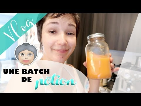 Une batch de potion (jus anti-inflammatoire & antioxydant)! / Vlog #498