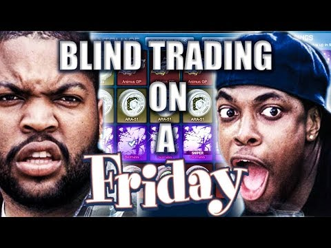 BLIND TRADING ON A FRIDAY!? | ROCKET LEAGUE