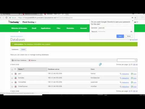 Upload PHP And MySQL To Godaddy - Part 1