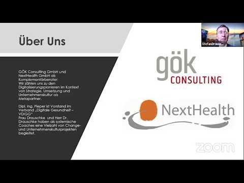 """Dr.  Stefan Drauschke beim Kongress """"Krankenhausführung und digitale Transformation 2020"""""""