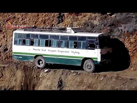 Death Road   World's Most Dangerous Roads In Rohtang Pass 2017   Shock Wave