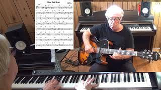 Moon Over Miami - Jazz guitar & piano cover ( Joe Burke & Edgar Leslie )