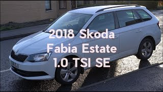 Tweed Jacket Reviews: 2018 Skoda Fabia 1.0 TSI SE Estate - Lloyd Vehicle Consulting