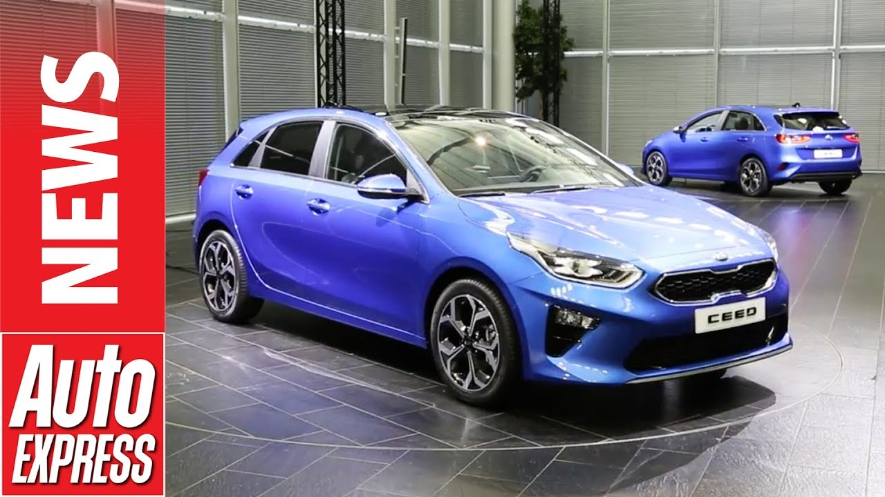 New Kia Ceed unveiled - family hatch sets sights on VW Golf and Ford Focus - Dauer: 2 Minuten, 55 Sekunden