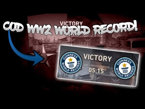 *NEW* WW2 World Record in War!! Fastest Game of War in COD WW2 YET!!