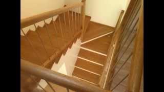 Renovated staircase - Rekonstrukce schodiště