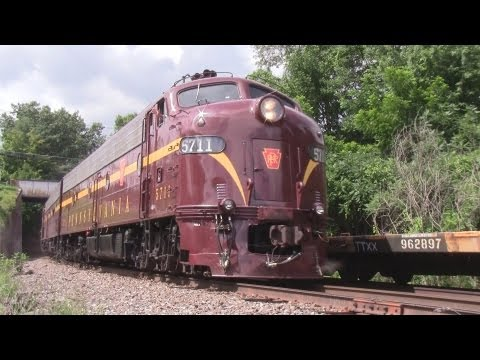 50th Video: PRR E8s on the Pacific Express