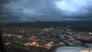 Вечерний Измир. Вид с неба.(2 января 2014 г. Рейс PC2815 Стамбул-Измир., 2014-01-13T12:56:01.000Z)