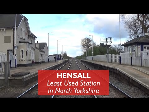 Hensall - Least Used Station in North Yorkshire